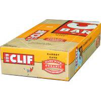 ClifBar CLIFCLBR0012CARCBR Carrot Cake 12 ct