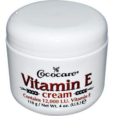 Cococare 0409011 Vitamin E Cream - 12000 IU - 4 oz