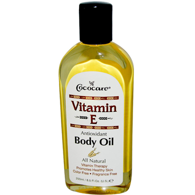 Cococare 0409334 Vitamin E Antioxidant Body Oil - 9 fl oz