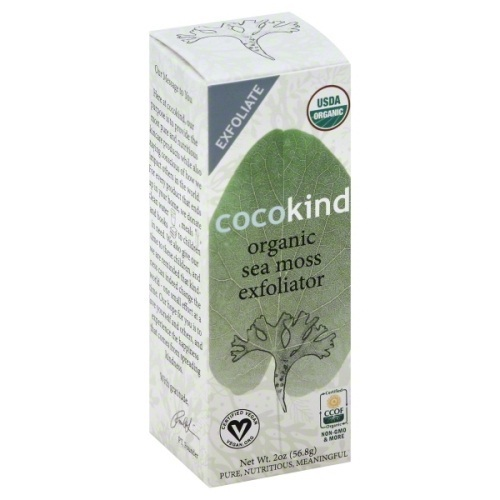 Cocokind BWA12562 1 x 2 oz Sea Moss Exfoliator