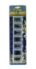 Complete Medical 10563 Pill Box Jumbo 7 Day
