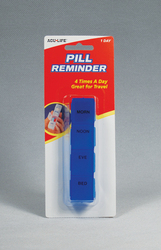 Complete Medical HE188B Pill Reminder - Daily Blue