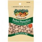 Continental Concession 280867 2.25 oz Snack Club Salted Pistachio - 6 Per Pack