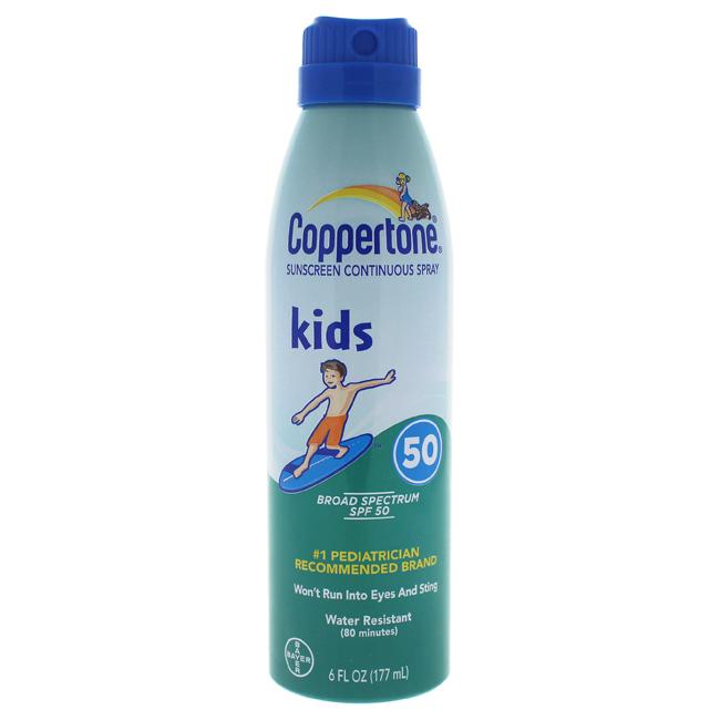 Coppertone K-SC-1056 6 oz Kids Sunscreen Continuous Spray