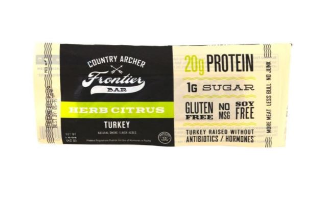 Country Archer 9390302 Frontier Bar Herb Citrus Turkey - Pack of 4