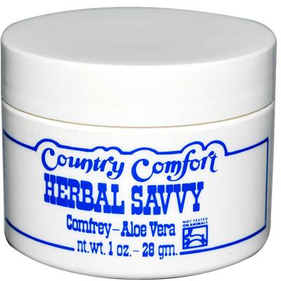 Country Comfort Herbal Savvy Comfrey Aloe Vera - 1 oz