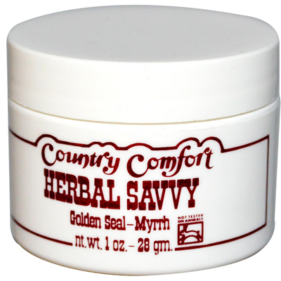 Country Comfort Herbal Savvy Golden Seal-Myrrh - 1 oz