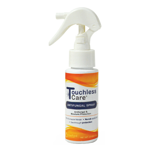 Crawford Healthcare 8782402 2 oz Touchless Care Antifungal Spray