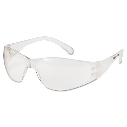Crews CL010 Checklite Safety Glasses Clear Frame & Clear Lens