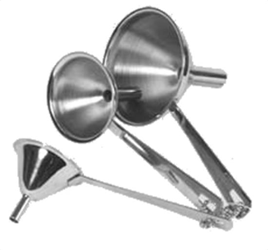 Culinary Accessories Canning & Funnels 3-Piece Funnel Set 5 8 and 12 mm Stainless Steel 221165