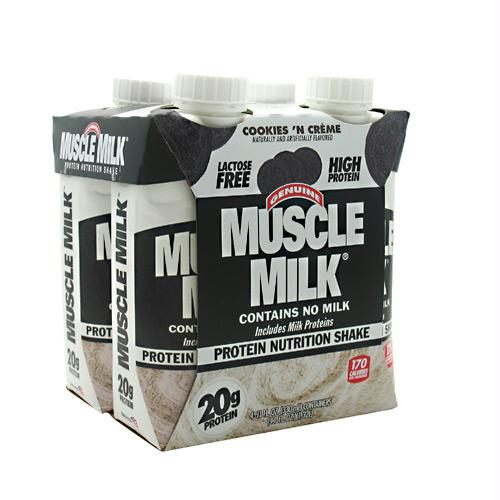 Cytosport 400615 Muscle Milk Rtd Cookies N Cream - Gluten Free