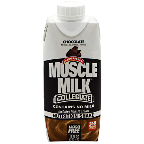 Cytosport 400644 11 oz Collegiate Muscle Milk Ready-To-Drink Chocolate - 12 Serving