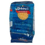 DAVINCI PASTA ALPHABET-12 OZ -Pack of 12