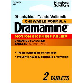 DDI 1945398 Dramamine - 2 Tablets Case of 6
