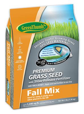 DLF 213105 3 lbs Fall Seed Turfgrass Mixture