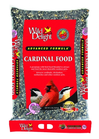 D&D Commodities Wild Delight Cardinal Food 15 Pound 376150