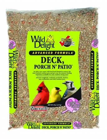 D&D Commodities Wild Delight Deck Porch N Patio Wild Bird Food 5 Lb 374050