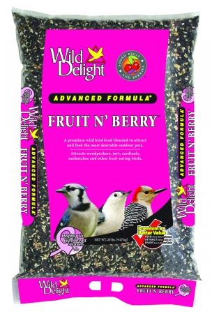 D&D Commodities Wild Delight Fruit & Berry Wild Bird Food 20 Pound 365200