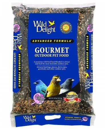 D&D Commodities Wild Delight Gourmet Outdoor Pet Food 20 Pound 368200