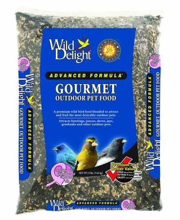 D&D Commodities Wild Delight Gourmet Outdoor Pet Food 8 Pound 368080