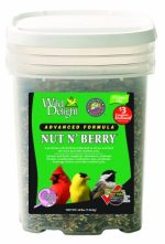 D&D Commodities Wild Delight Nut N Berry Wild Bird Food 16 Lb Pail 382316
