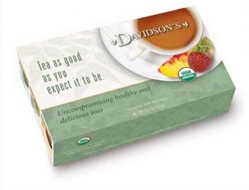 Davidson Organic Tea 169 Spearmint Orange Spice Tea Box of 100 Tea Bags