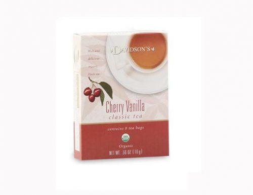 Davidson Organic Tea 2125 Cherry Vanilla Tea Box of 8