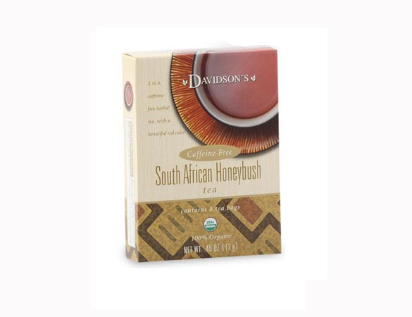 Davidson Organic Tea 2236 South African Honeybush Tea Box of 8