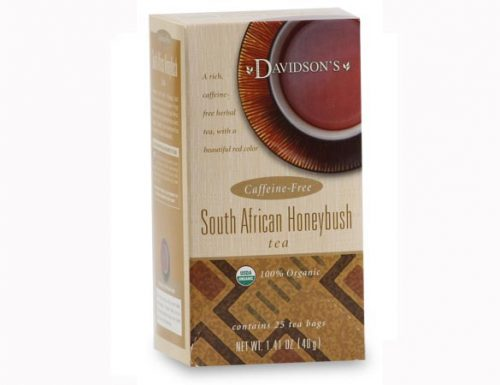Davidson Organic Tea 2536 South African Honeybush Tea Box of 25 Tea Bags