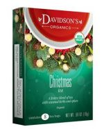 Davidsons Organics 1186 Single Serve Christmas Tea - 100 Count