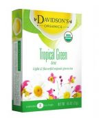 Davidsons Organics 1626 Single Serve Tropical Green Tea - 100 Count
