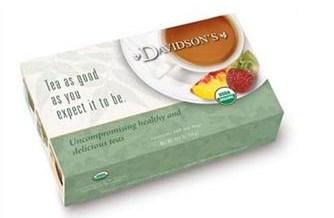 Davidsons Organics 3187 Single Serve Childrens Christmas Tea - 100 Count
