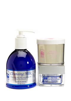 Dead Sea Spa Care DEADSEA-26 Anti-Aging Facial Scrub Cream Anti-Aging Peeling Gel & Cleansing Milk