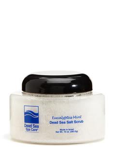 Dead Sea Spa Care DEADSEA-7 10 oz Eucalyptus-Mint Salt Scrub