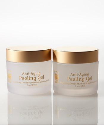Dead Sea Spa Care DeadSea-1011 Anti-Aging Peeling Gel - Set of Two