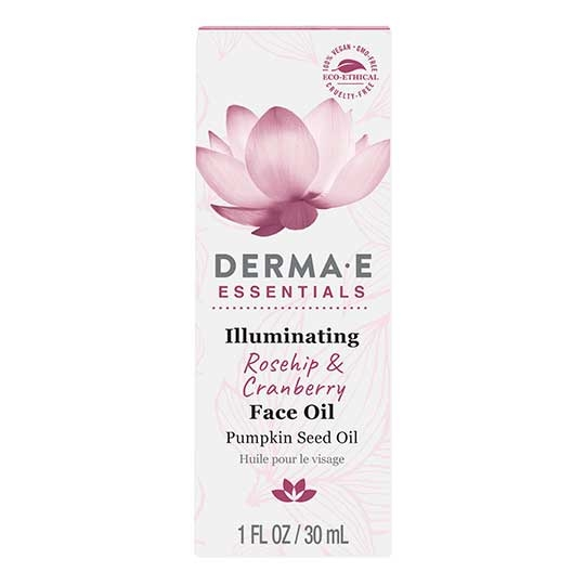 Derma E 231948 Illuminating Rosehip & Cranberry Face Oil