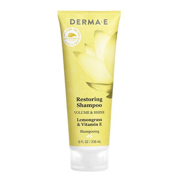 Derma E 232099 8 fl oz Volume & Shine Shampoo