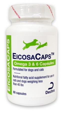 DermaPet 015DP-0-40 EicosaCaps for Dogs and Cats