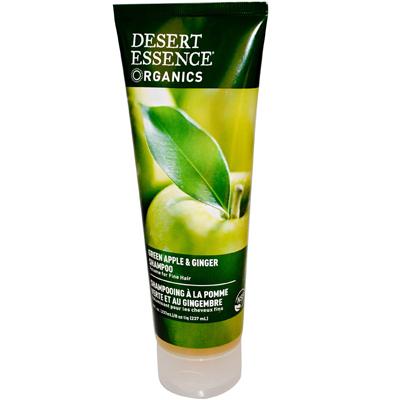Desert Essence Organics Shampoo Green Apple And Ginger - 8 Fl Oz