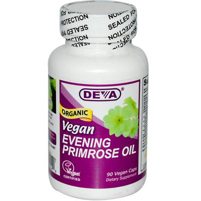 Deva Vegan Vitamins 0511485 Evening Primrose Oil - 90 Vcaps