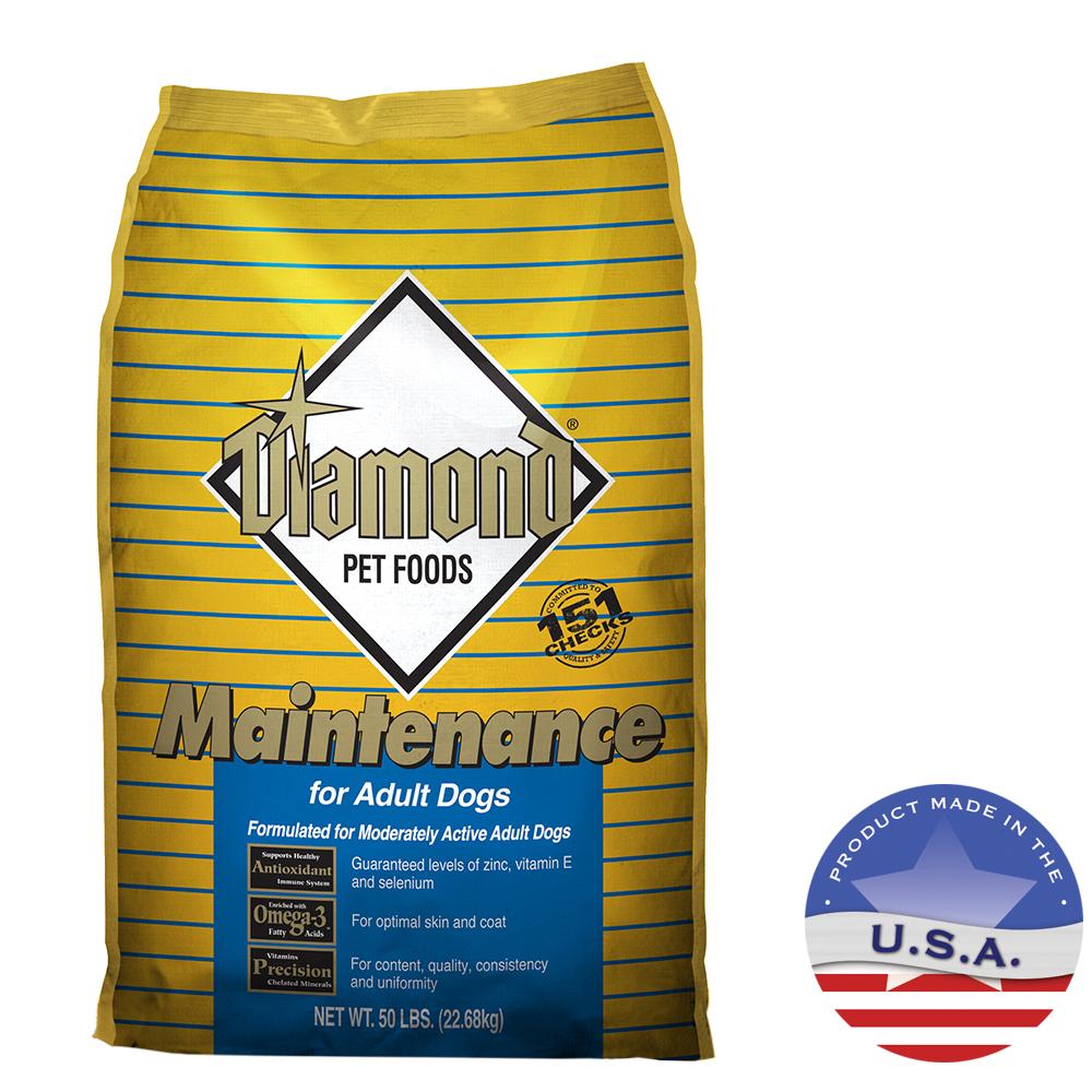 Diamond Pet Foods 030DIA-00350 50 lbs Diamond Maintenance Formula for Adult Dogs