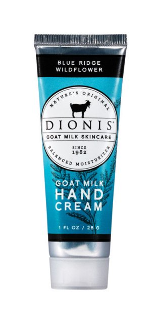 Dionis Z52161-4 1 oz Blue Ridge Wildflower Goat Milk Hand Cream - pack of 4