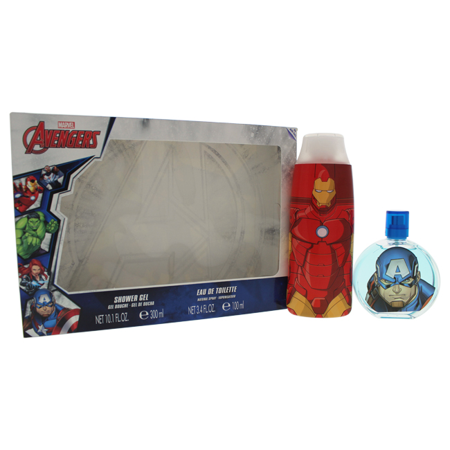 Disney K-GS-2082 Avengers Gift Set for Kids - 2 Piece