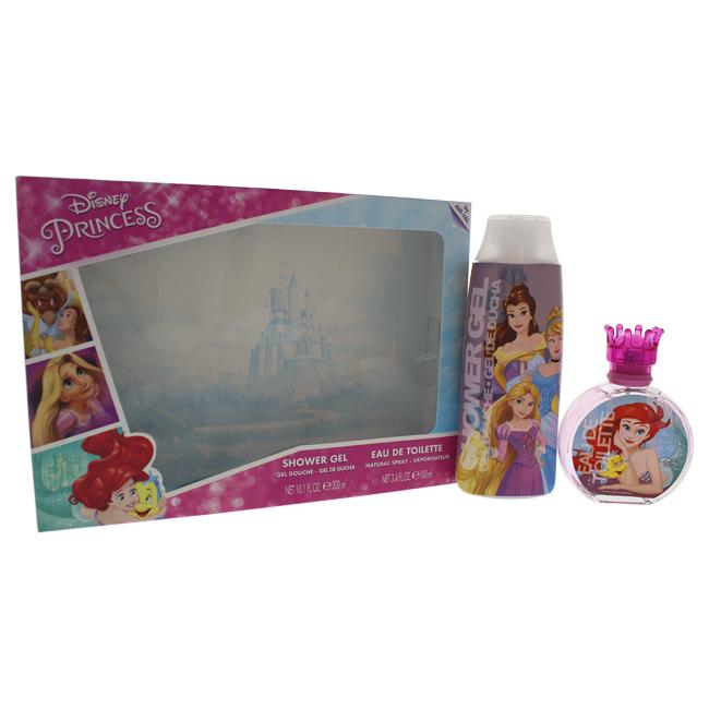 Disney K-GS-2097 Princess Gift Set for Kids - 2 Piece