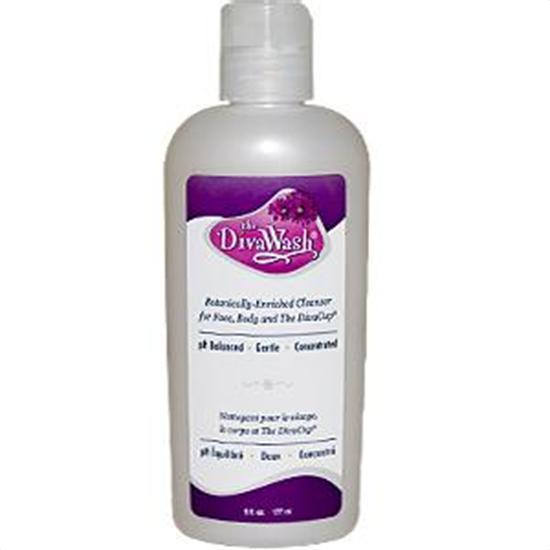 DivaCup Menstrual Solutions DivaWash Natural Body Gel and Cleanser for The DivaCup 6 fl. oz. 220604
