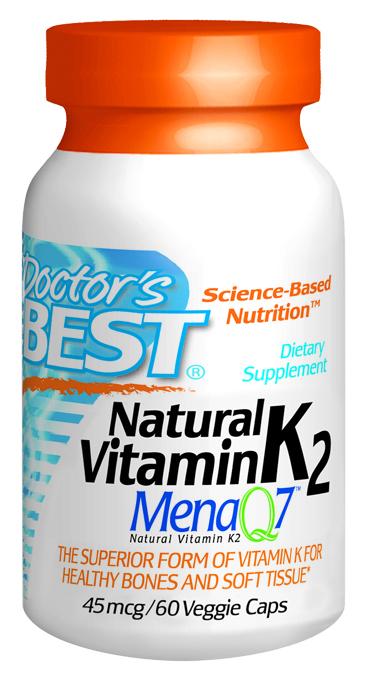 Doctors Best D198 Vitamin K2 60 VGC