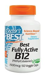 Doctors Best D286 Fully Active B12 1500mcg 60 VGC