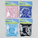 DollarItemDirect G14640CS Shower Cap Poly 4 Solid Colors - Pack of 36