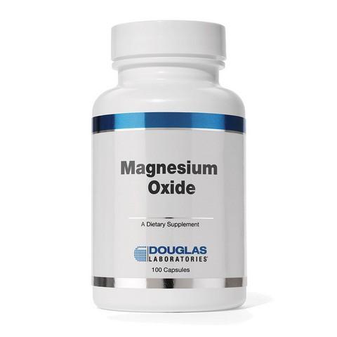 Douglas Laboratories DGL630100T Magnesium Oxide Capsules 100 Count