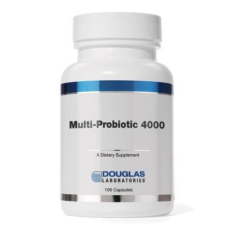 Douglas Laboratories DGLA07 Multi-Probiotic 4000 Capsules 100 Count